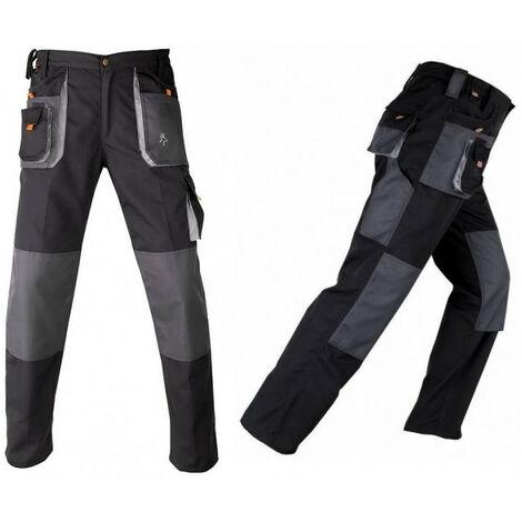 """main image of """"Pantalon avec renforcements SMART noir-gris KAPRIOL - plusieurs modèles disponibles"""""""