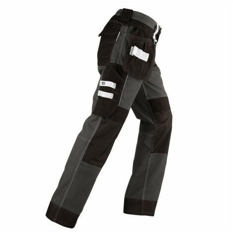 Pantalon avec renforcements VITTORIA noir-gris KAPRIOL- plusieurs modèles disponibles