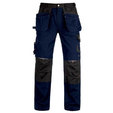 Pantalon avec renforcements Vittoria Pro bleu/noir Kapriol - plusieurs modèles disponibles