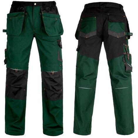 Pantalon avec renforcements Vittoria Pro vert/noir Kapriol - plusieurs modèles disponibles