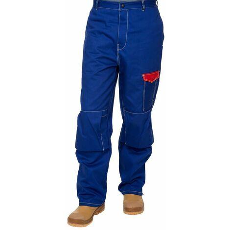 Pantalón azul ignifuga Fire Fox