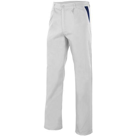 Pantalón blanco con pinzas Serie PT349