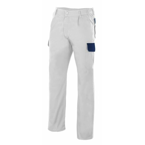 Pantalón blanco multibolsillos Serie PT345