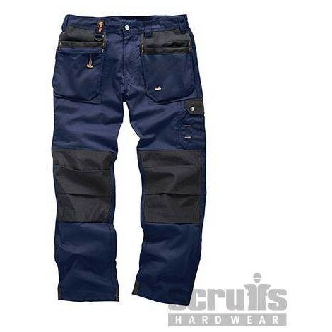 Pantalon bleu marine Worker Plus, 32R
