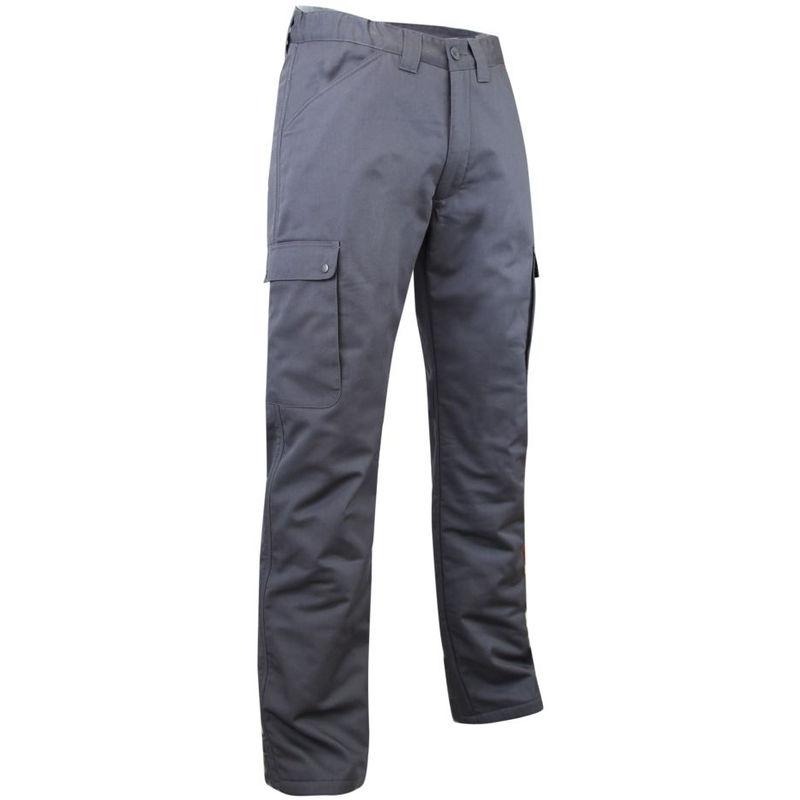 Pantalon cargo polaire et imperméable OURS LMA Gris Foncé 48