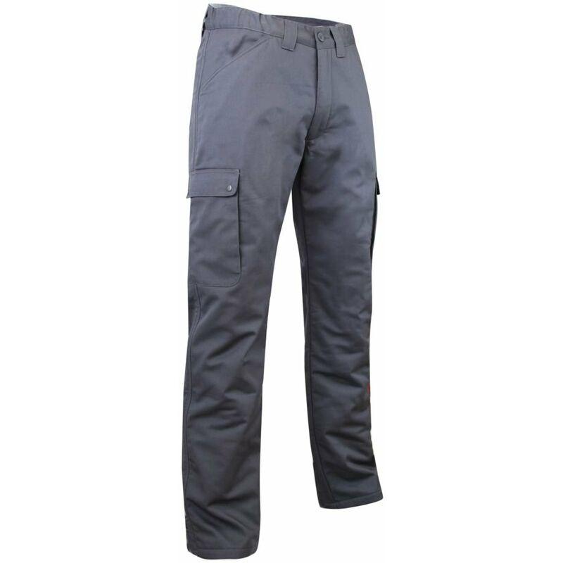 Pantalon cargo polaire et imperméable OURS LMA Gris Foncé 56