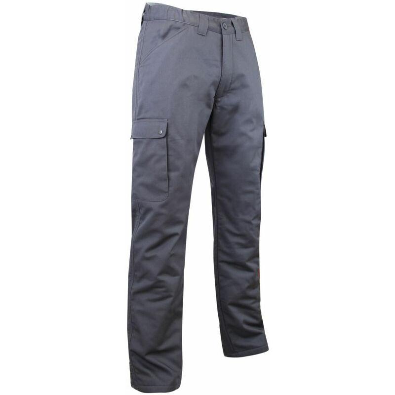 Pantalon cargo polaire et imperméable OURS LMA Gris Foncé 58