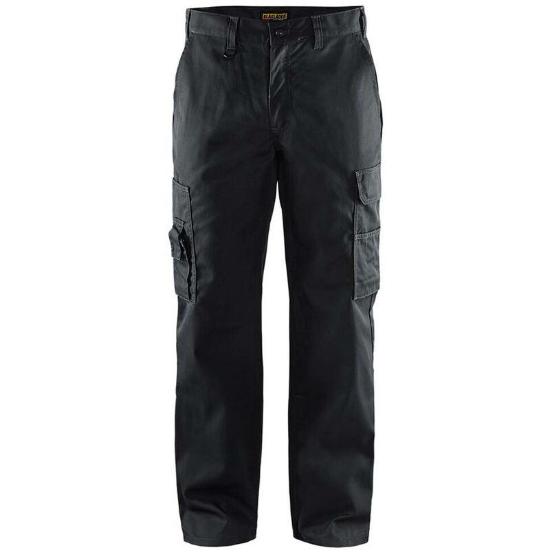 Pantalon de travail Blaklader cargo polycoton Noir 54
