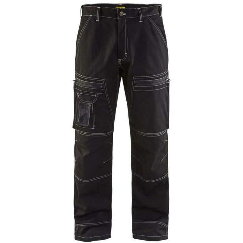 Pantalon de travail chauffeur Blaklader Polycoton Noir 54