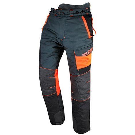 Pantalon COMFY spécial tronçonneuse protection 5 couches avec Cordura Armortex Coolmax guêtre type A classe 1 - SOLIDUR