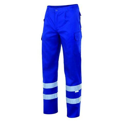 Pantalón con cintas multibolsillos