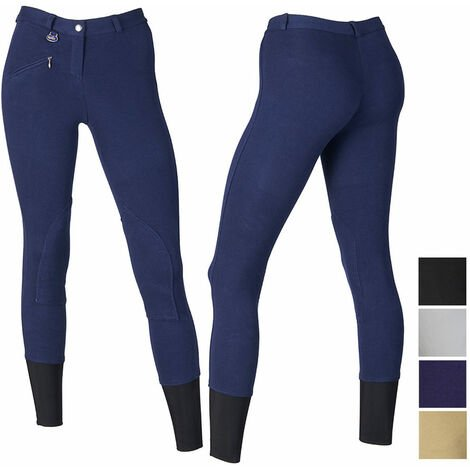 Pantalon d'équitation en coton anatomique extensible pour femmes Winner