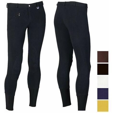 Pantalon d'équitation en coton pour homme avec bas de contention Winner