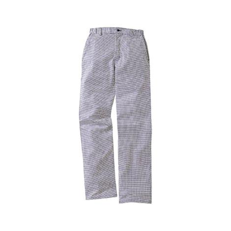 Pantalon de cuisine pied de poule marine 100% coton LAFONT - Taille 46 - 1FCH87COCB46