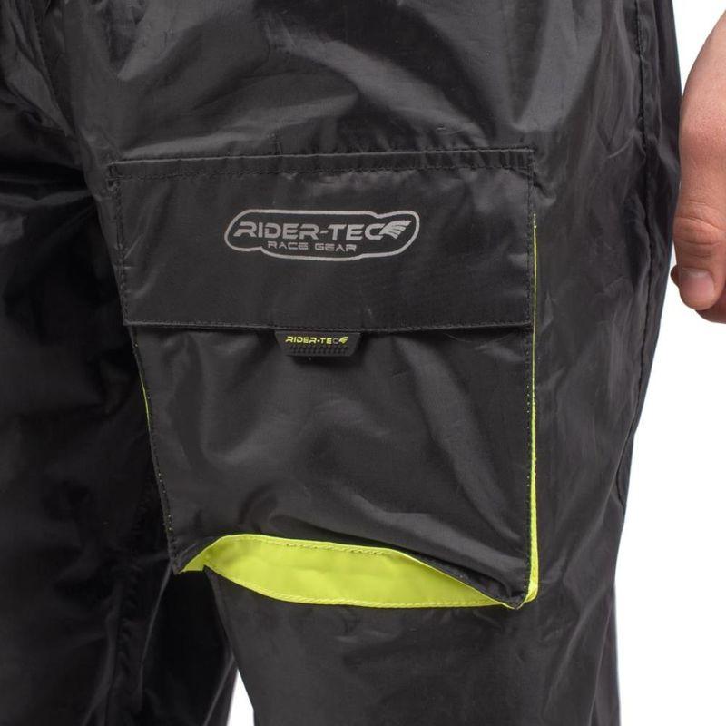 Rain Pants One RIDER-TEC Coutures /Étanches Pantalon de Pluie Taille-XS 1 Grande Poche
