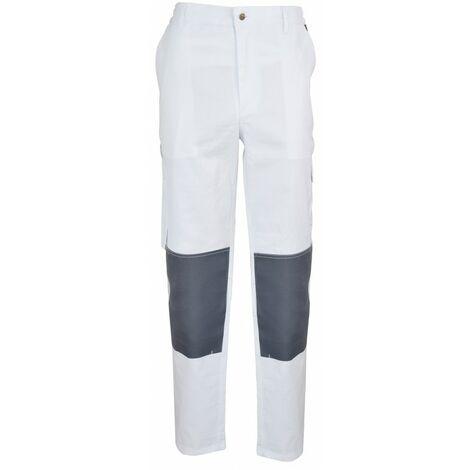 Pantalon de peintre blanc Manufrance