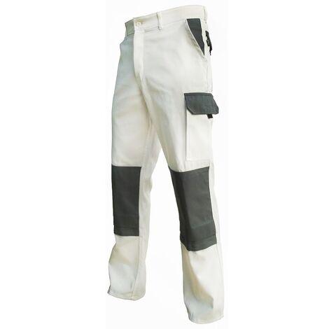 Pantalon de peintre - PBV - et gris - Homme