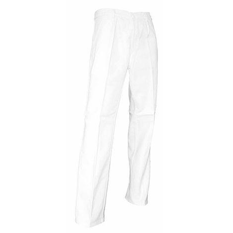 Pantalon de peintre Pinceau LMA Blanc
