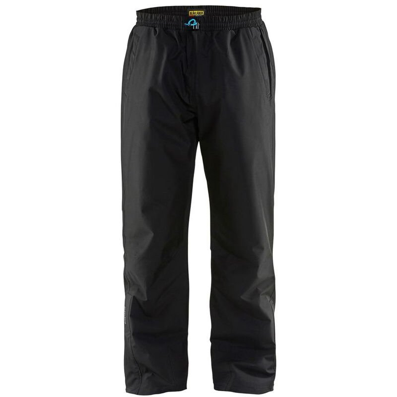 Pantalon de pluie Blaklader respirant coupe-vent Noir L