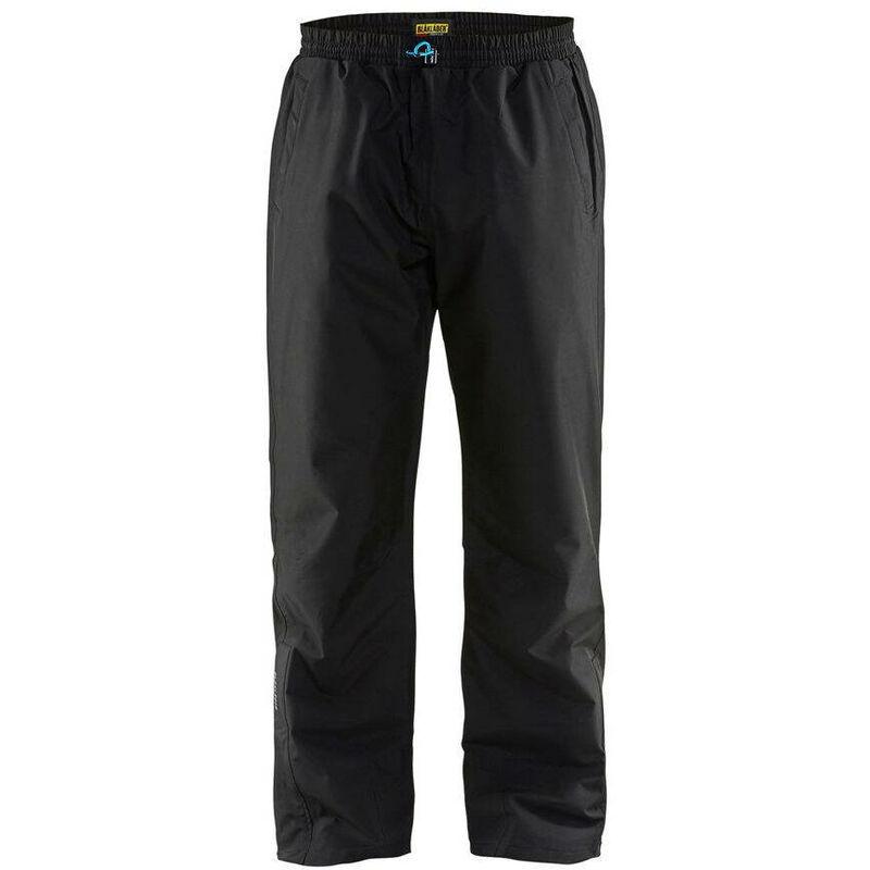 Pantalon de pluie Blaklader respirant coupe-vent Noir S