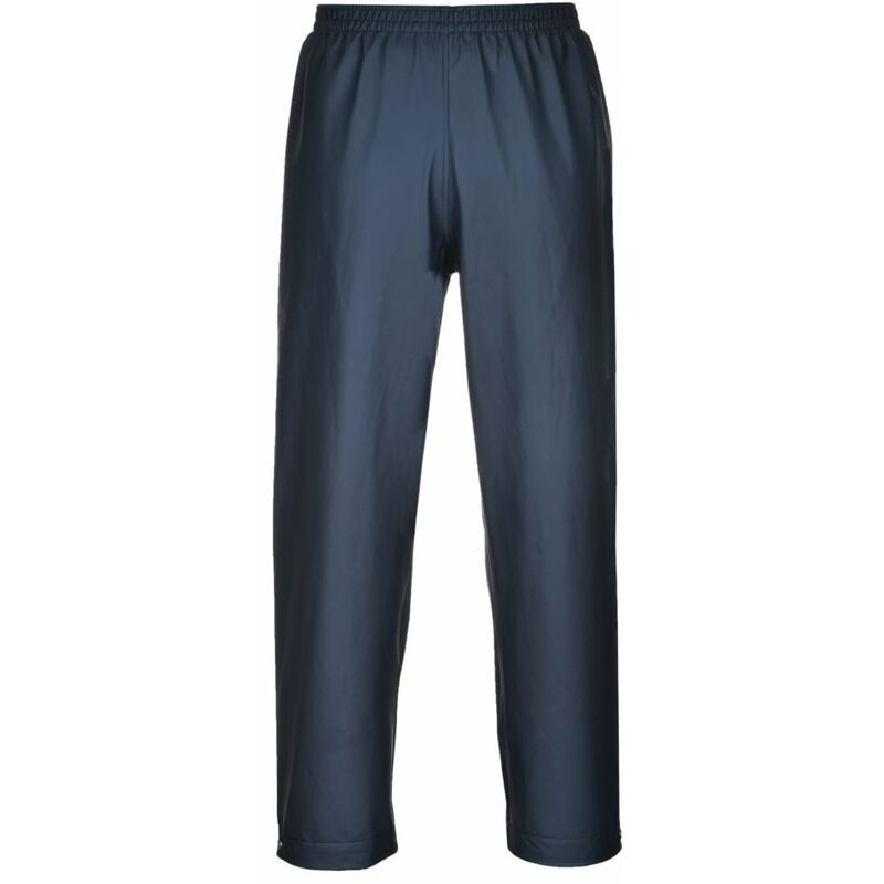Pantalon de pluie étanche Portwest classique Sealtex Bleu Marine 4XL