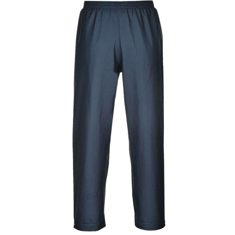 Pantalon de pluie étanche Portwest classique Sealtex Bleu Marine L