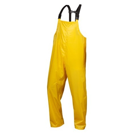 Pantalon de pluie Nylon/Vinyl, Taille L, jaune