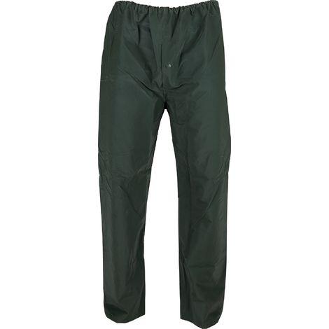 Pantalon de pluie PVC Lari Cap Vert - Vert - Taille XL