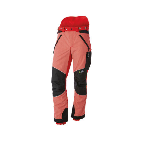 Pantalon de protection anti-coupures X-treme Vectran Rouge/noir, Robuste