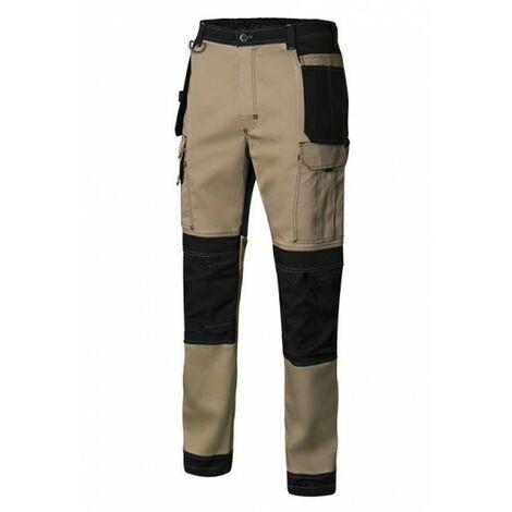 Pantalón de trabajo canvas velilla stretch - varias tallas disponibles