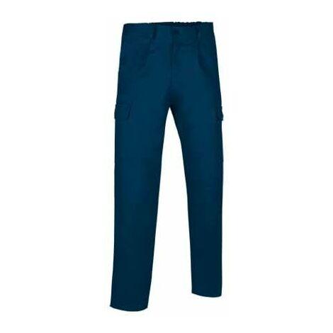 bb9d1080ae Pantalón de trabajo largo multibolsillos con pinzas (ref. SOLID ...