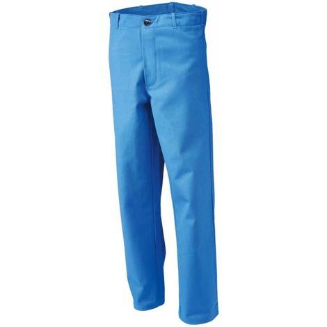 Pantalón de trabajo, Talla 48, 360 g/qm,azul grano