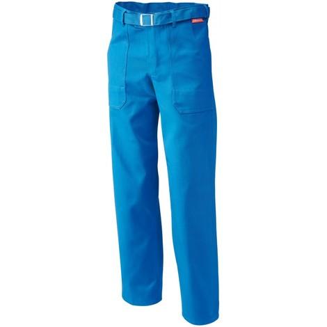 Pantalon de travail , 100% coton, 290 g/m2,Taille 56,bleu
