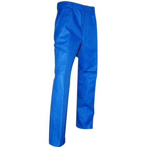 Pantalon de travail 100% Coton LMA Clou Bleu 70 - Bleu