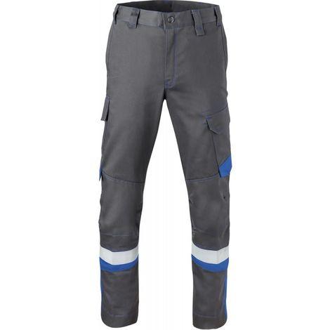 Pantalon de travail 80340 Taille 58 gris charbon/bleu