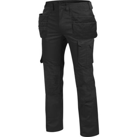Pantalon de travail à poches Holster Cetus Würth MODYF noir