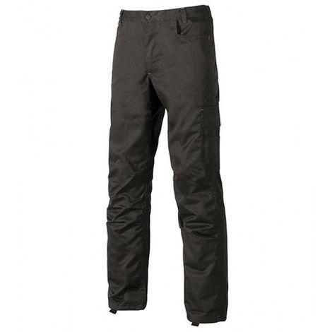 Pantalon de travail avec petite poche portemonnaie - BRAVO Black Carbon - ST069BC - U-Power