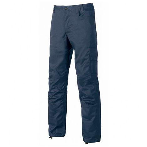 Pantalon de travail avec petite poche portemonnaie - BRAVO Deep Blue - ST069DB - U-Power