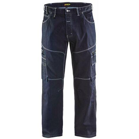 "main image of ""Pantalon industrie/services X1900 URBAN CORDURA deNIM - Blaklader - 19591140"""