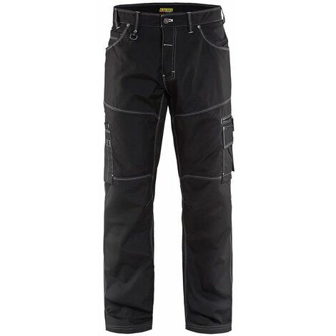 "main image of ""Pantalon X1900 URBAN - 9900 Noir - Blaklader"""