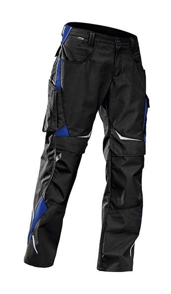 Kubler - Pantalon de travail noir/bleu ,Gr.54