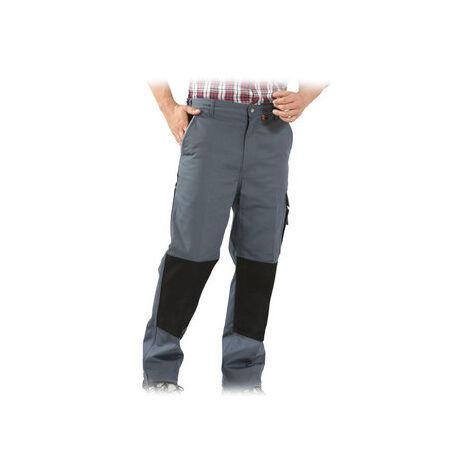 Pantalon de travail Canvas 320 Gris/Noir Taille 60 Planam - Gris Clair