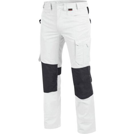 Pantalon de travail Cetus Würth MODYF blanc/anthracite