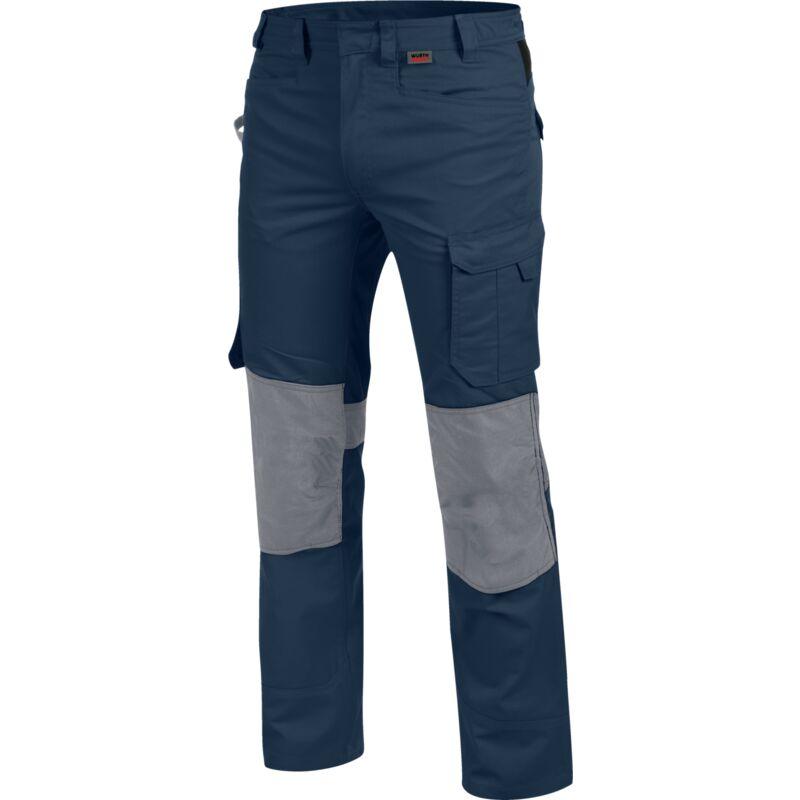 Pantalon de travail Cetus marine/gris - 60 - Würth Modyf
