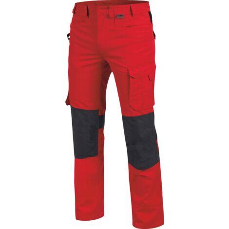 pantalon de travail cetus würth modyf rouge/anthracite
