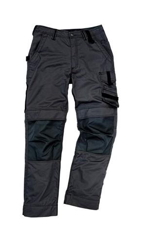 Excess Professional Workwear - Pantalon de travail Champ, Taille 54, noir/noir