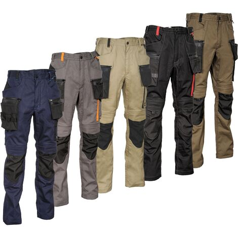 Pantalon de travail Cofra Mureck slim Anthracite 50
