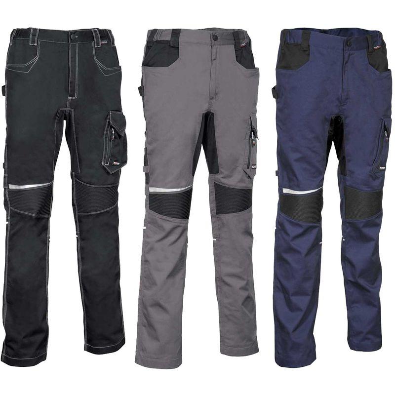 Pantalon de travail Skiathos Noir 58 - Cofra