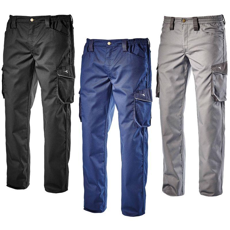 STAFF Pantalon de travail Gris L - Diadora Utility