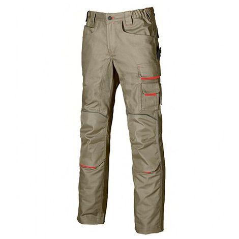 Pantalon de travail doté de deux grandes poches italiennes - FREE Deep Blue - DW022DB - U-Power